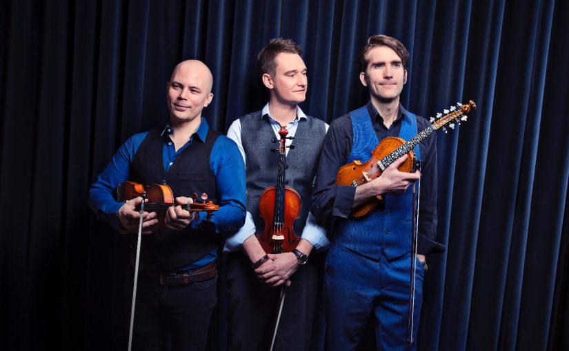 Nordic Fiddlers Bloc in Concert on April 28, workshop on April 29