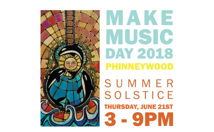 Make Music Day is this Thursday, June 21st!