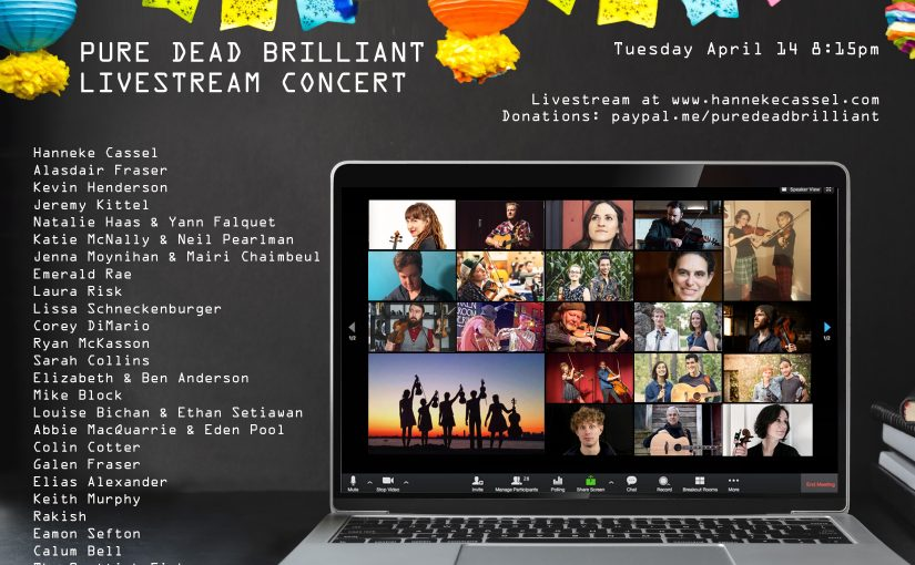 """Streamed Concerts and """"Festivals"""" – Listings for April"""
